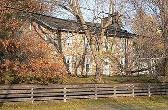 National Register of Historic Places listings in Monroe County, New York - Image: Blackwell childhood home 4
