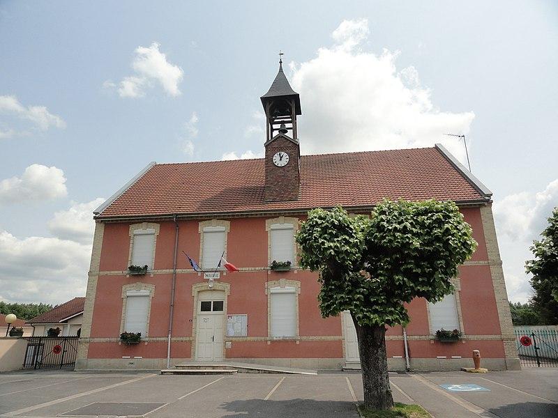 La mairie de Blacy.