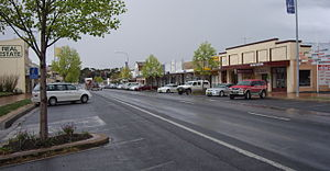 Blayney, New South Wales - Image: Blayney Streetscape