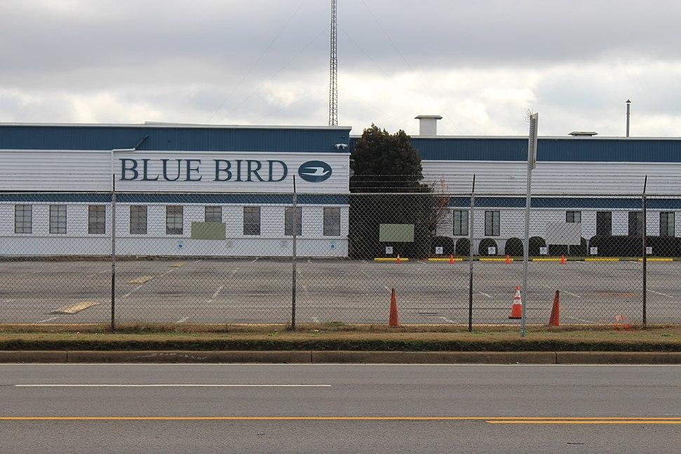 Blue Bird Building closeup, Fort Valley
