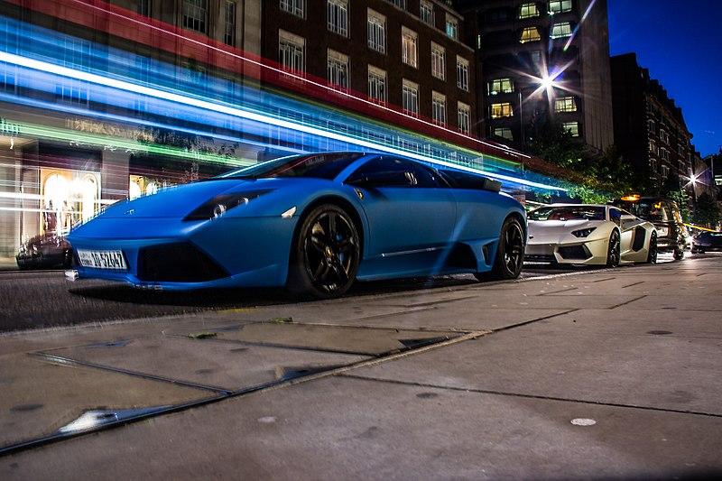 File:Blue Lamborghini (8148468208).jpg