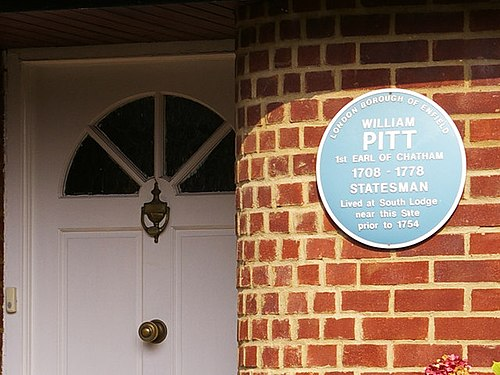 Blue plaque for william pitt, 1st earl of chatham   geograph.org.uk   977659