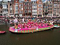 Boat 22 Pink Marrakech, Canal Parade Amsterdam 2017 foto 5.JPG