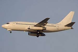 Kam Air Flight 904 - EX-037, the aircraft involved in the accident, seen in Dubai International Airport in 2004