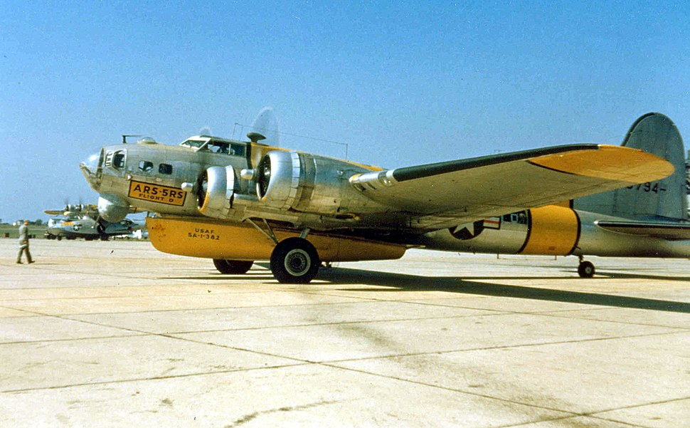 Boeing SB-17G of the 5th Rescue Squadron, Flight D
