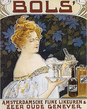 Bols (brand) - Poster by Henri Privat-Livemont (1901)