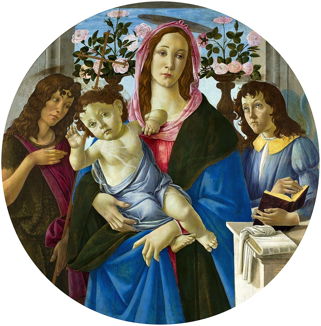 Botticelli Madonna and Child 03