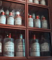 Bottles at the apothecary at the Hospices de Beaune.jpg