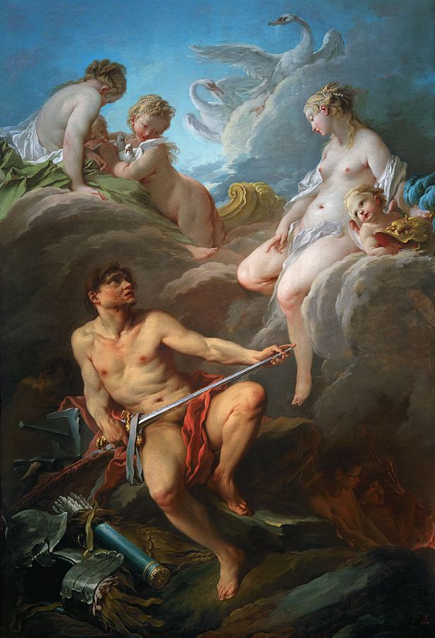Vénus demandant à Vulcain des armes pour Énée