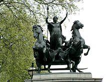 Statua di Budicca (Westminster)