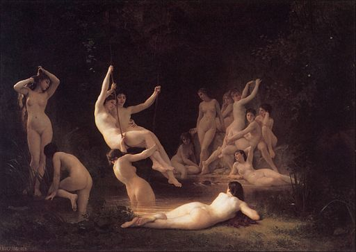 Bouguereau, Les Nymphes, 1878 (5589772027)