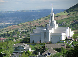 Bountiful, Utah - The Bountiful Utah Temple of The Church of Jesus Christ of Latter-day Saints
