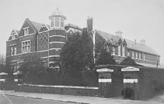 Grammar school - Bournemouth School opened on 22 January 1901, the day Queen Victoria died.