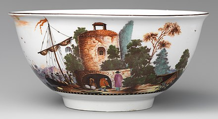 Bowl with European harbour scene, c. 1735 Bowl MET DP-12734-001 (cropped).jpg