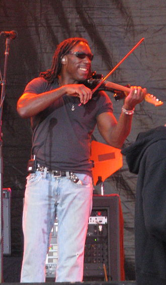 Boyd Tinsley - Tinsley playing an electric violin in July 2008
