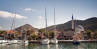 Bozburun Place in Aegean, Turkey