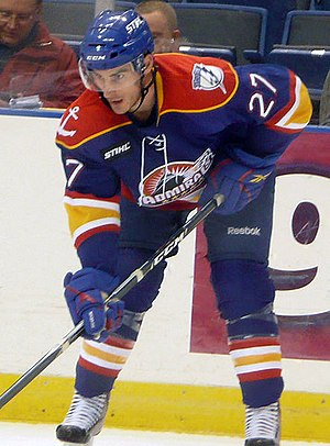 Norfolk Admirals (AHL) - Brandon Bochenski with the Admirals.