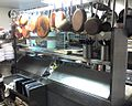 Brass Sauce Pans and Pots in Italian Restaurant kitchen - panoramio.jpg