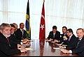 Brazilian President Luiz Inacio Lula da Silva & Turkish Prime Minister Recep Tayyip Erdogan in Brasilia, 27 May 2010.jpg