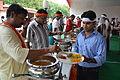 Breakfast Distribution - Rawatpura Sarkar Ashram - Chitrakoot - Satna 2014-07-05 6360.JPG