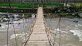 Bridge at Swat River, Swat Valley Pakistan.jpg