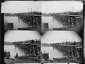 Bridge at White House Landing, Pamunkey River - NARA - 529301.tif