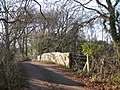 Bridge over disused railway - geograph.org.uk - 1660174.jpg