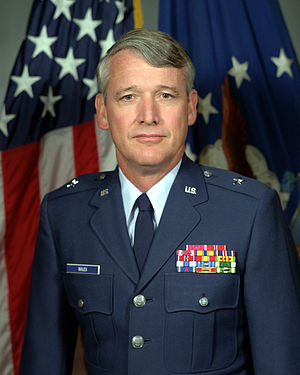 Billy J. Boles - Brig. Gen. Billy J. Boles, 1987