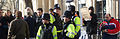 Bristol public sector pensions march in November 2011 police presence 2.jpg
