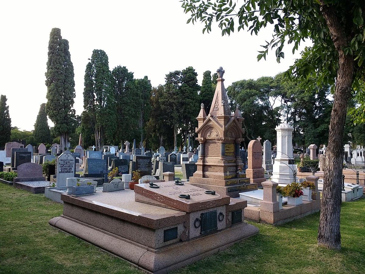 the british cemetery montevideo