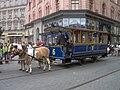 Brno, 140 let MHD (68), náměstí Svobody, koňka.jpg