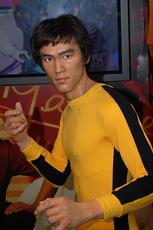 Bruce Lee (Madame Tussauds Hong Kong).