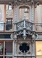 Brudern House, facade detail, 2013 in Budapest.jpg