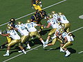 Bruins on offense at UCLA at Cal 10-25-08 11.JPG