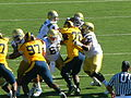 Bruins on offense at UCLA at Cal 2010-10-09 20.JPG