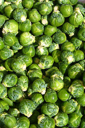 Brussels sprout - Brussels sprouts (cultivar unknown)