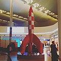 Bruxelles Aeroport. I want a beautiful -rocket sculpture in -Warsaw. -futurephilia (24560357731).jpg