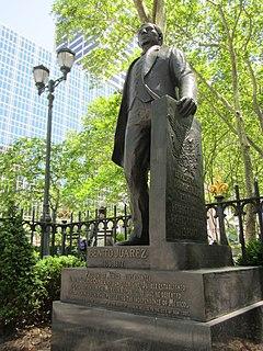 Statue of Benito Juárez (New York City)