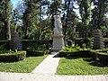 Bucuresti, Romania, Parcul Cismigiu; B-II-a-A-19655; Monumentul Soldatului Francez (2).JPG