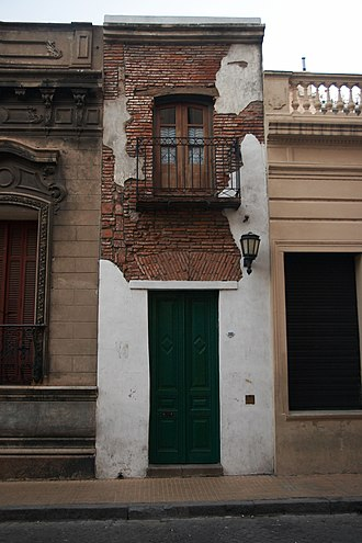Afro-Argentines - The Casa Mínima, built by freedmen following the 1812 abolition of slavery in Argentina