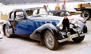 Bugatti Type 57 - Type 57 Coupé 1936.