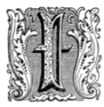 Buke of the Order of Knighthood Initial I.png