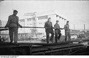 Bundesarchiv Bild 101II-MW-6860-25A, Atlantikwall, Bunkerbau