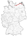 Bundesstraße 105 Verlauf.png