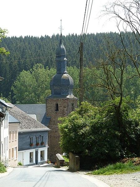 St Stephanuskerk, Burg-Reuland, Belgique