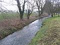 Burn downstream from Ebberston - geograph.org.uk - 1714320.jpg