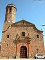 Butsènit d'Urgell, Montgai, la Noguera. Església s XVIII (A SiT D5393).jpg