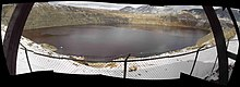 Butte MT Berkeley Pit April 2005 Composite Fisheye View.jpg