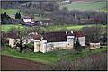 CAZOULES (Dordogne) - Château du Saulou depuis Cap del Pech.JPG