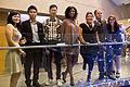 CFC Media Lab's Pearl Chen, Patrick Naval, Aylwin Lo, Jacqueline Nuwame, Ana Serrano, Leonardo Dell'Anno and Andrea Mallozzi at the Bata shoe museum (6210871503).jpg